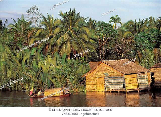 Soc trang region, Mekong delta, Vietnam