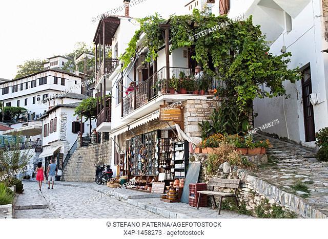 Makrinitsa, a traditional village, Pilion peninsula, Greece
