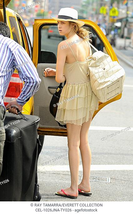 Whitney Port, walks in the West Village out and about for CELEBRITY CANDIDS - SATURDAY, , New York, NY June 26, 2010. Photo By: Ray Tamarra/Everett Collection