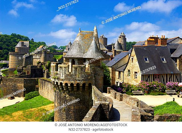 Fougeres, Ille-et-Vilaine, Bretagne, Brittany, France