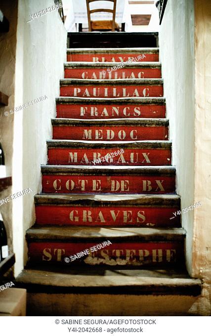 La Tupina. The greedy street. Bordeaux. Gironde. Aquitaine. France. Europe