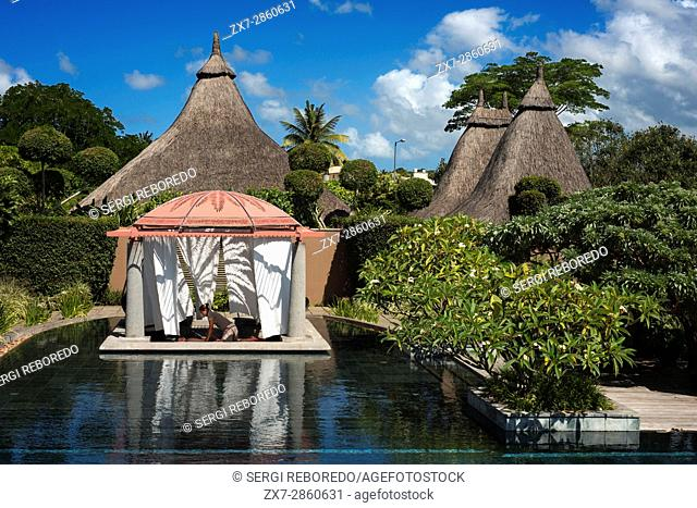 Spa and wellness area of Trou aux Biches Hotel and Resort, Mauritius, Mascarenes, Indian Ocean