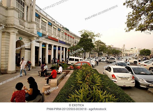 Market, Connaught Place, New Delhi, Delhi, India