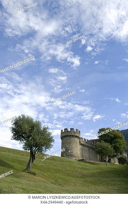 Motebello Castle in Bellinzona