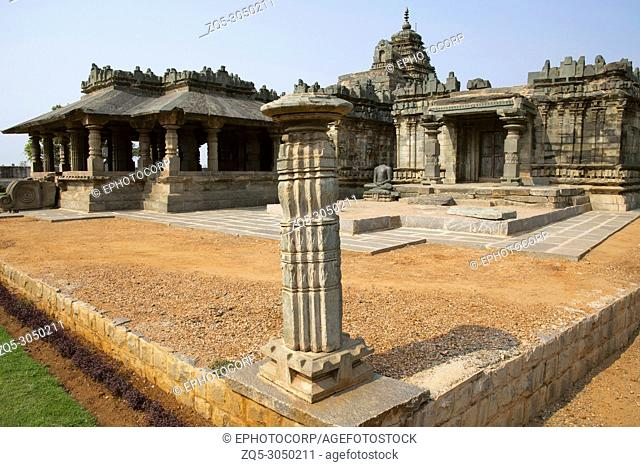 Brahma Jinalaya Jain temple. Lakkundi in Gadag District of Karnataka