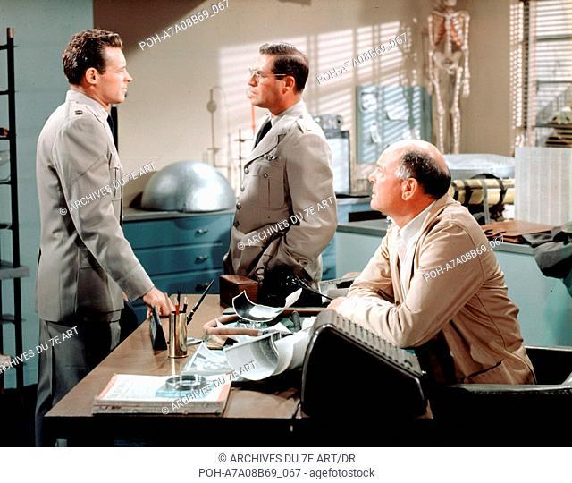 Au seuil de l'inconnu On the Threshold of Space  Year: 1956 USA Guy Madison, John Hodiak, Dean Jagger  Director: Robert D. Webb
