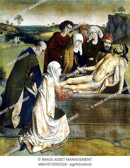 BOUTS, Dierick, or Dirk, or Thierry c 1415-1475 Dutch painter  'The Entombment' National Gallery, London