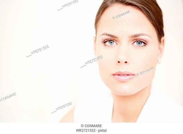 beauty care, face, young, woman, vitality, model