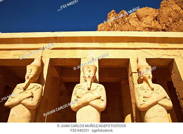 Hatshepsut's Temple. Luxor. Nile Valley. Egypt