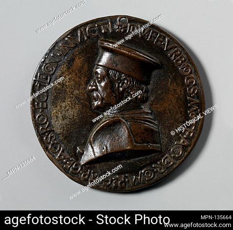 Federigo da Montefeltro, Duke of Urbino. Artist: Medalist: Savelli Sperandio (Italian, Mantua 1425?-?1504 Venice); Date: ca