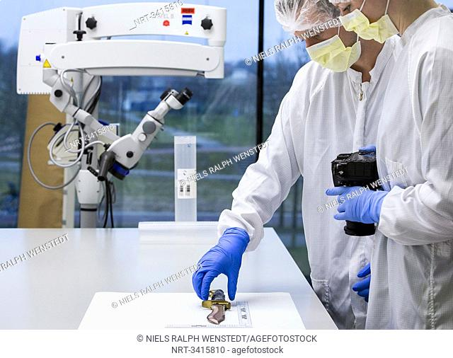 THE HAGUE - The Netherlands Forensic Institute (NFI) is one of the world's leading forensic laboratories. From its state-of-the-art