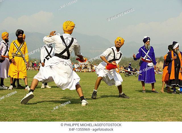 India, Punjab, Anandpur Sahib, Hola Mohalla festival of Sikh comunity