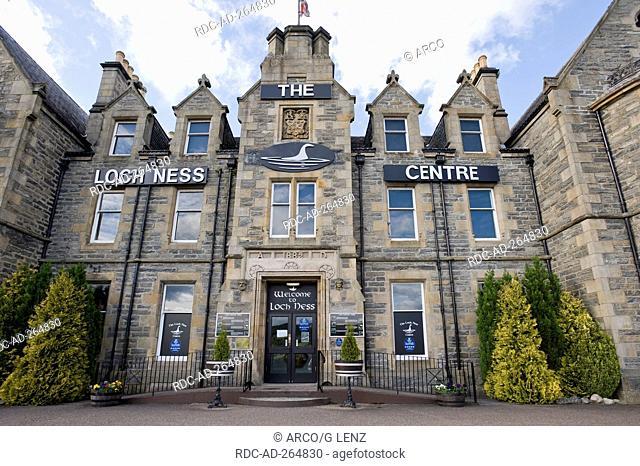 Loch Ness Exhibition Centre, Drumnadrochit, Loch Ness, Inverness-shire, Scotland / The Lock ness Centre