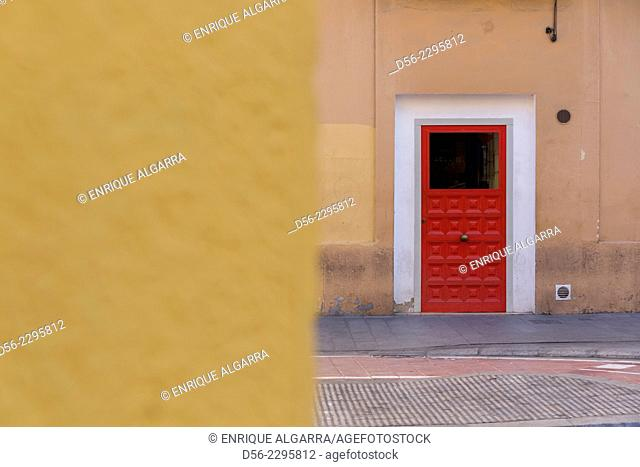 red door, Valencia, Spain