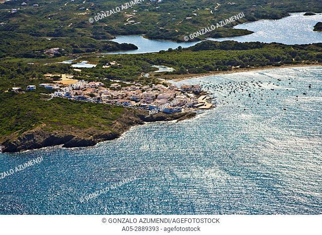 Es Grau. Minorca. Balearic Islands. Spain