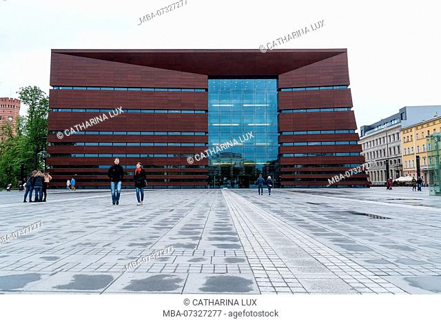 Poland, Wroclaw, National Forum of Music, modern architecture