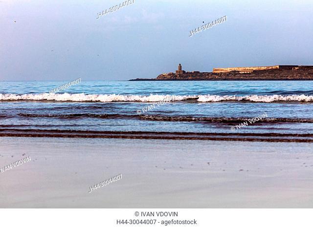Atlantic ocean beach, Essaouira, Morocco