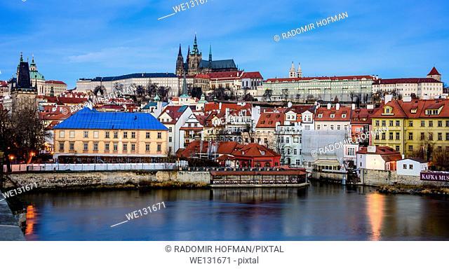 Prague old town center, Czech Republic