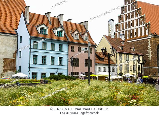 Riga, Latviaâ. . s capital, is set on the Baltic Sea at the mouth of the River Daugava. It's considered a cultural center and is home to many museums and...