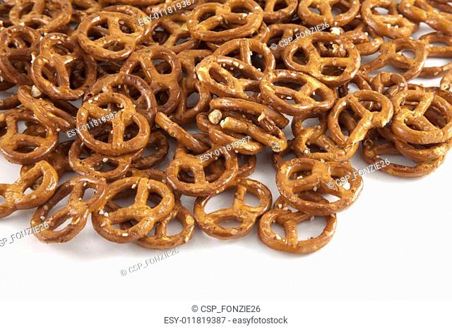 A lot of pretzels