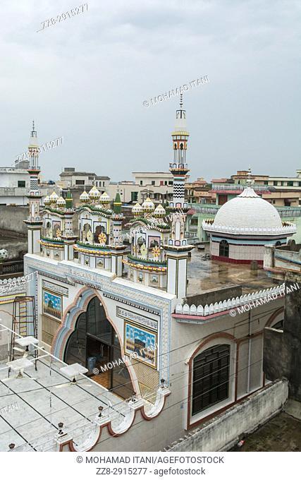 Mosque exteriors Kharian village Pakistan