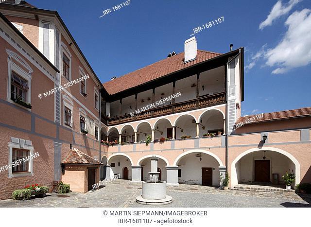 Rossatz Castle, Wachau, Mostviertel quarter, Lower Austria, Austria, Europe