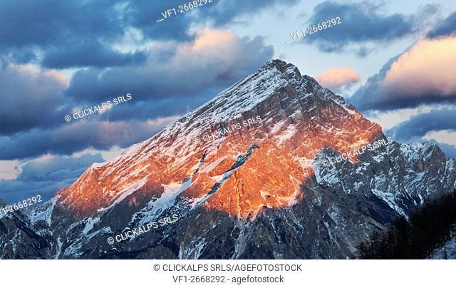 Antelao, Dolomites, Borca di Cadore, Belluno, Veneto, Italy