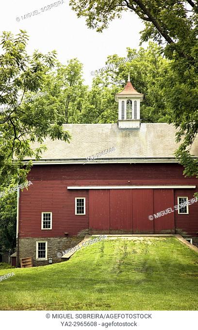 Red Barn in Pennsylvania - USA