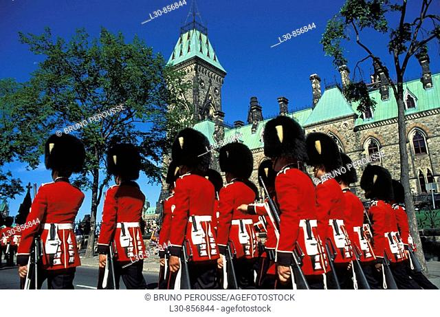 Change of the Guard, Parliament Hill, Ottawa, Ontario, Canada
