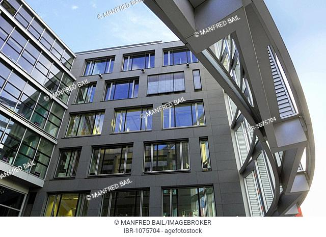 Theresie new building complex, Theresienhoehe 12, Munich, Bavaria, Germany, Europe