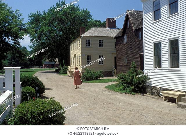 Portsmouth, NH, New Hampshire, Strawberry Banke Museum in Portsmouth