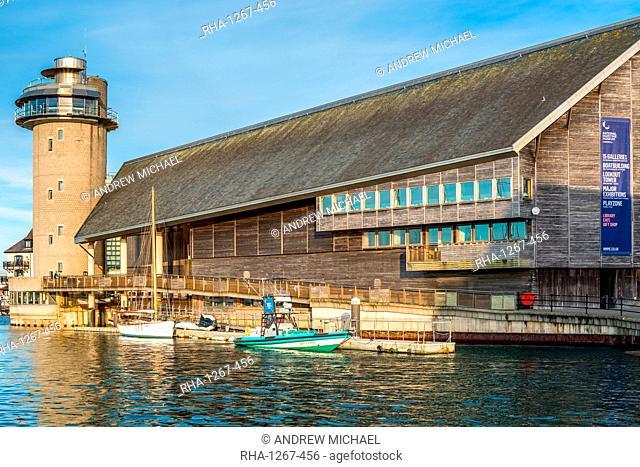 National Maritime Museum Cornwall, Discovery Quay, Falmouth, Cornwall, England, United Kingdom, Europe