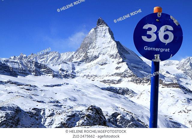Matterhorn, Zermatt, Alps, Switzerland