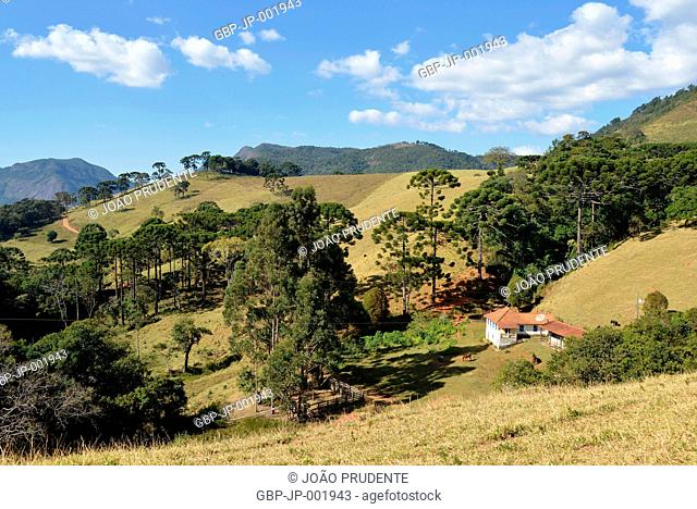 House, rural area, district, Luminosa, 2017, Brazópolis, Minas Gerais, Brazil
