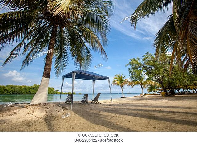 Belize, Glovers reef Atoll, Long caye,