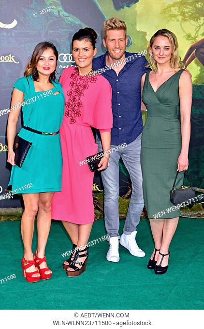 Premiere The Jungle Book at Zoo-Palast Featuring: Sarah Alles, Giulia Consiglio, Maxi Arland, Anne-Catrin Maerzke Where: Berlin