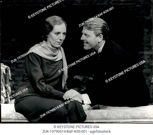 Jun. 14, 1979 - Edward Fox in 'The Family Reunion': Edward Fox is to star in the T.S. Eliot play, ' The Family Reunion' which opens at the Vaudeville Theater on...