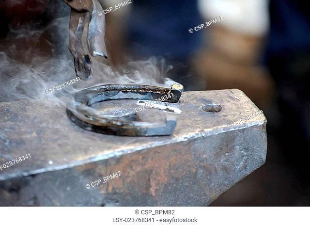 smithy - hammer and horseshoe