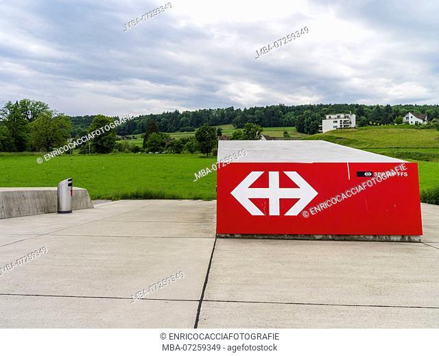 Entrance to underground station