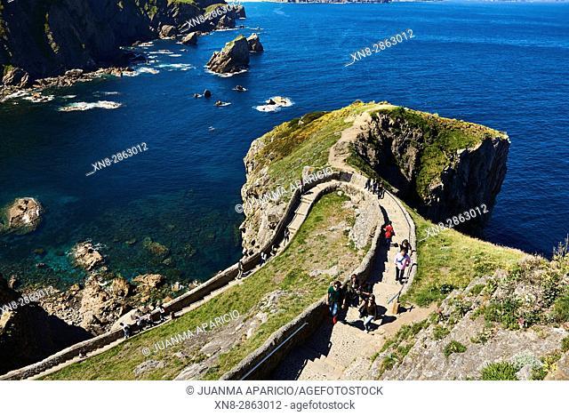 San Juan de Gaztelugatxe, Bermeo, Biscay, Basque Country, Spain