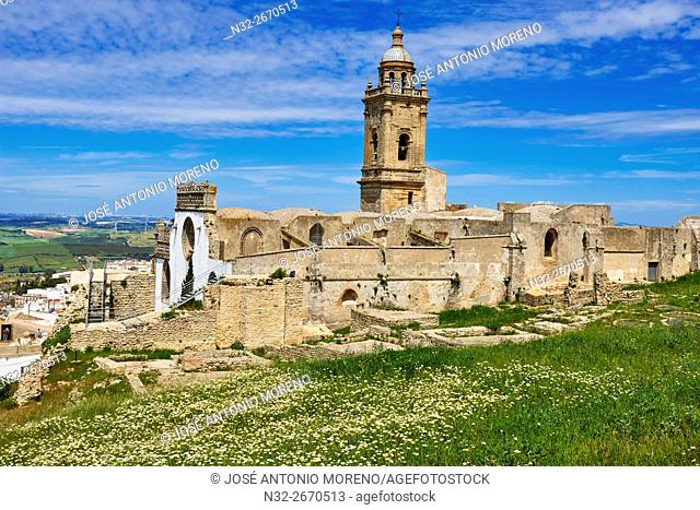 Medina Sidonia, Santa Maria la Coronada Church. Pueblos Blancos ('white towns') Route, Cádiz province, Andalusia, Spain