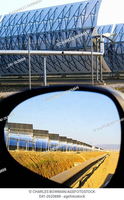 Spain, Almeria Province, solar power plant Spain