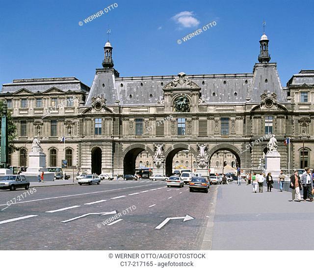 Louvre Museum. Paris. France