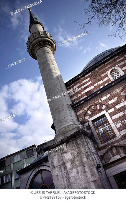 Rustem Pasha Mosque. Istambul; Europe; Asia