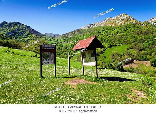 Indicators in Las Xanas. Pedroveya. Asturias. Spain