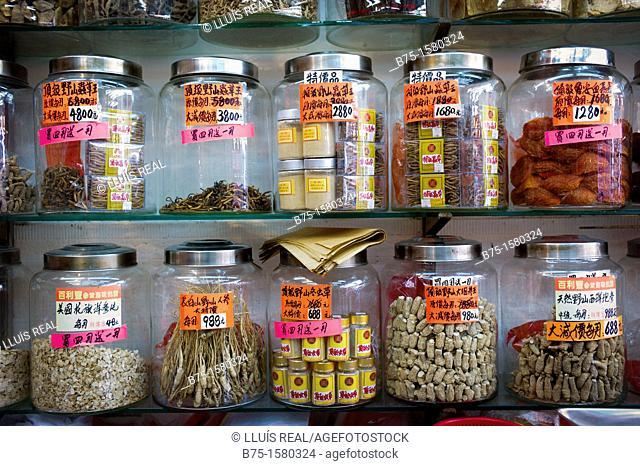 Food store, Hong Kong, China, Asia, Chinese products