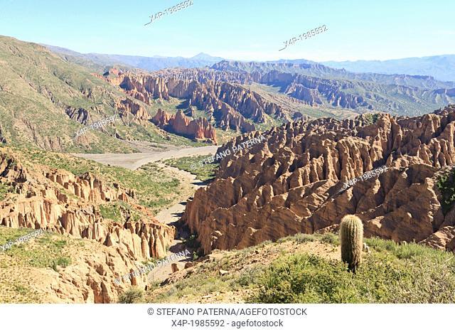 El Sillar, near Tupiza, Bolivia