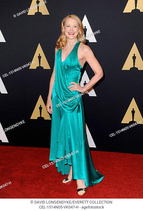 Patricia Clarkson at arrivals for Academy's 7th Annual Governors Awards 2015, The Ray Dolby Ballroom at Hollywood & Highland Center, Los Angeles, CA November 14