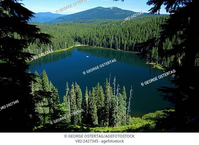 Fish Lake, Olallie Lake Scenic Area, Mt Hood National Forest, Oregon