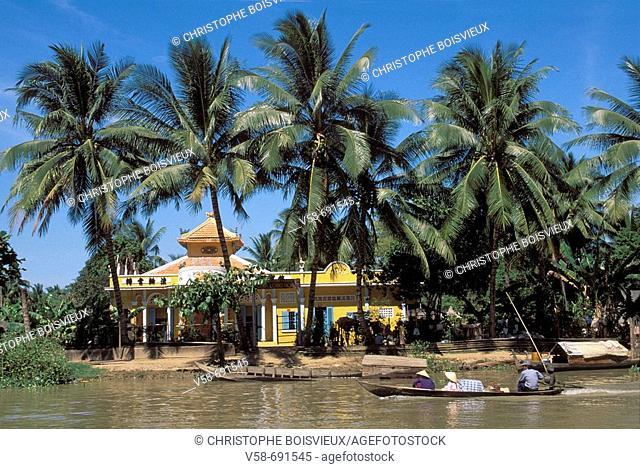 Cai lay village, Mekong delta, Vietnam